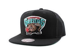 NBA Mitchell & Ness Black Grizzlies Vancouver Snapback Hat