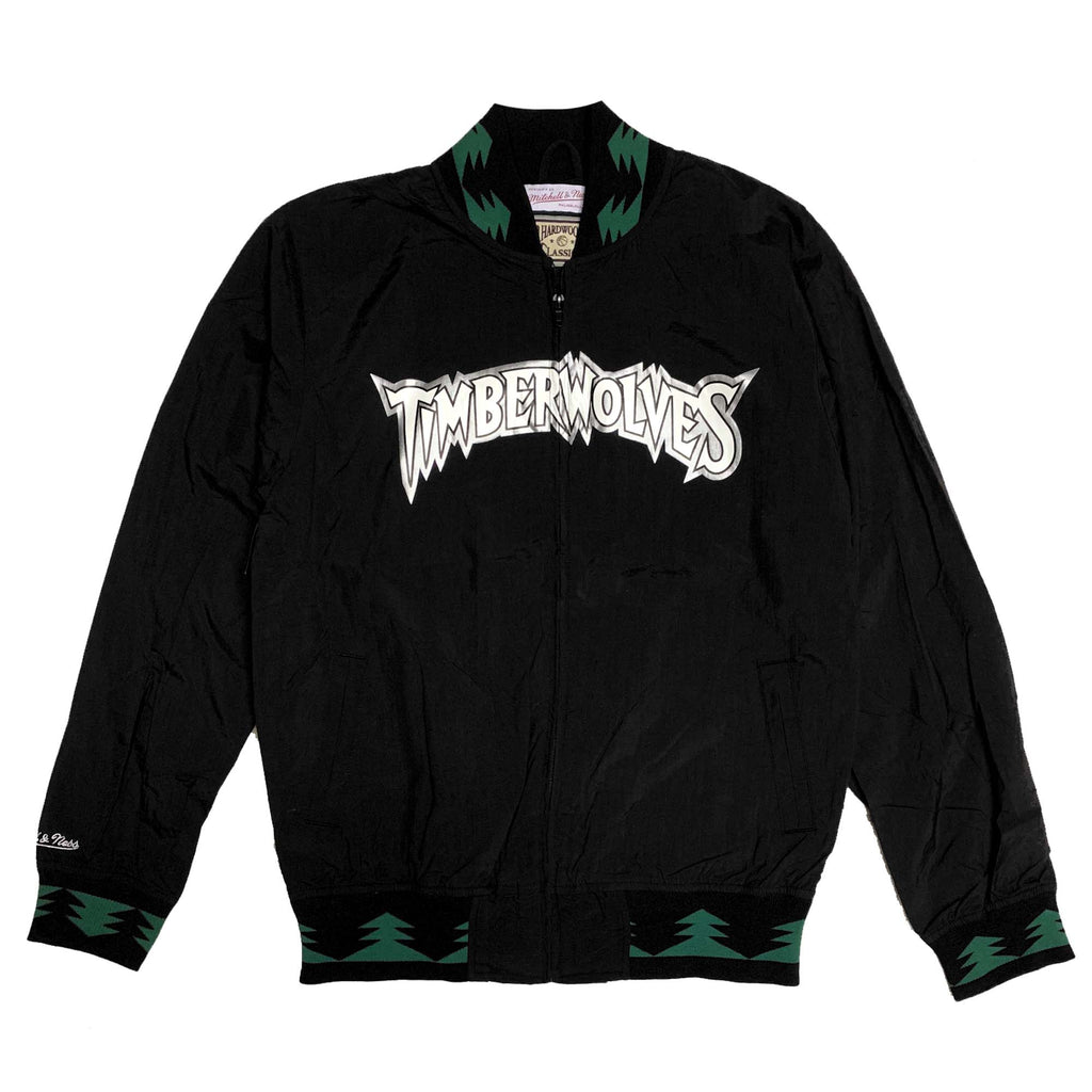 *Exclusive Mitchell & Ness Minnesota Timberwolves 1997-98 Team History Warm Up Jacket