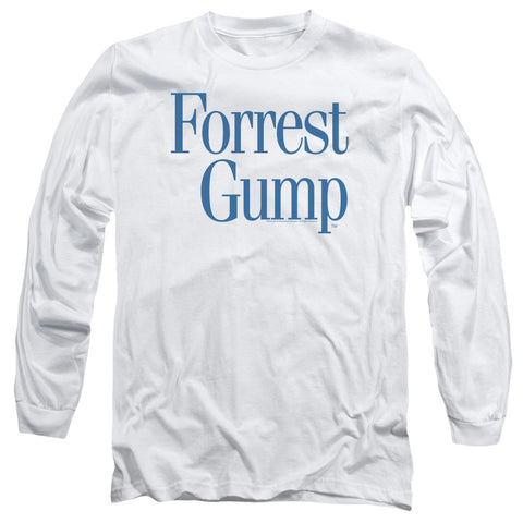 Forrest Gump - Logo Long Sleeve Adult 18/1