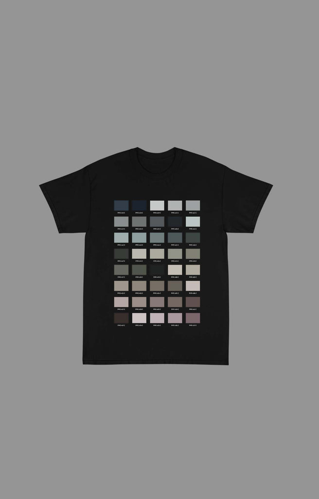 "Pantone ""Earth"" Tee Shirts (Available in Black & White)"