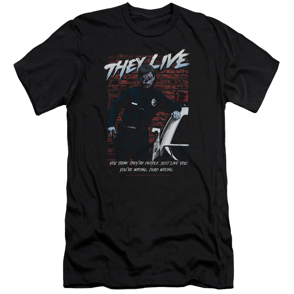 They Live - Dead Wrong Premium Canvas Adult Slim Fit 30/1