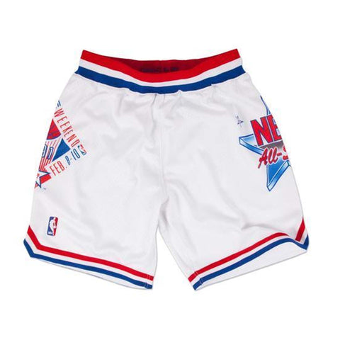 Mitchell & Ness 1991 NBA All Star Game East Authentic Shorts in White