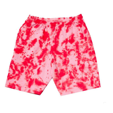 "Jeffersons Custom Tonal Tie Dyed Shorts w/ Pockets ""FIRE RED"""
