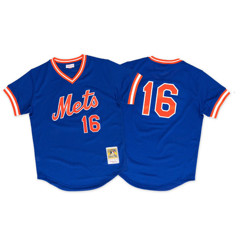 Dwight Gooden 1986 Authentic Mesh BP Jersey New York Mets