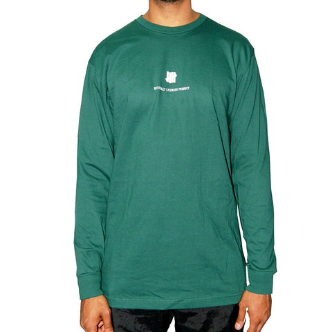 Undefeated Officially Licensed Product  Long Sleeve Tee In Olive