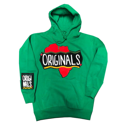 Originals Motherland Hoodie in Green
