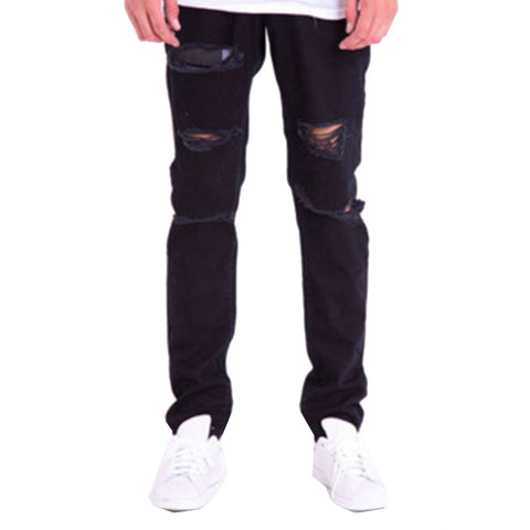 Hill Denim Jeans in Black