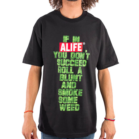 If In Life Tee In Black