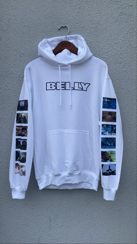 BELLY Hoodie in White