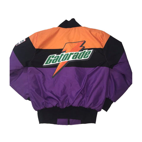 Nostalgic Club Gatorade Jacket in Purple