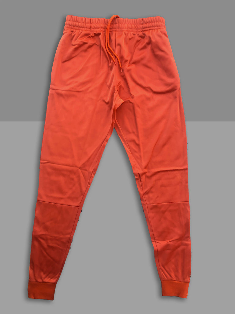 """Burnt Orange"" Cotton Poly Tapered Joggers"
