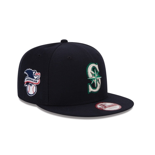New Era Seattle Mariners Baycik MLB American League Sidepatch Snapback