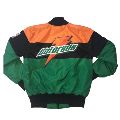 Nostalgic Club Gatorade Jacket in Black