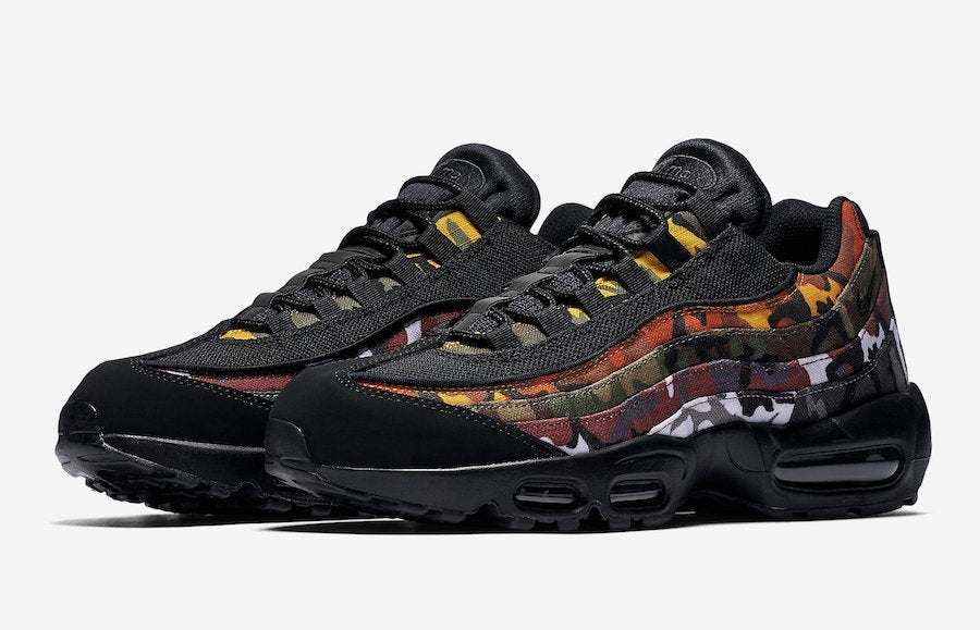 8ac6ddf96d1 Nike Men s Air Max 95 ERDL Party Black