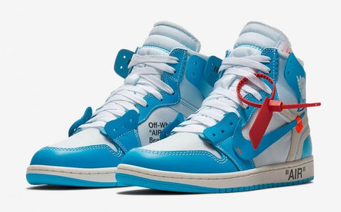 OFF-WHITE X Air Jordan 1 Powder Blue
