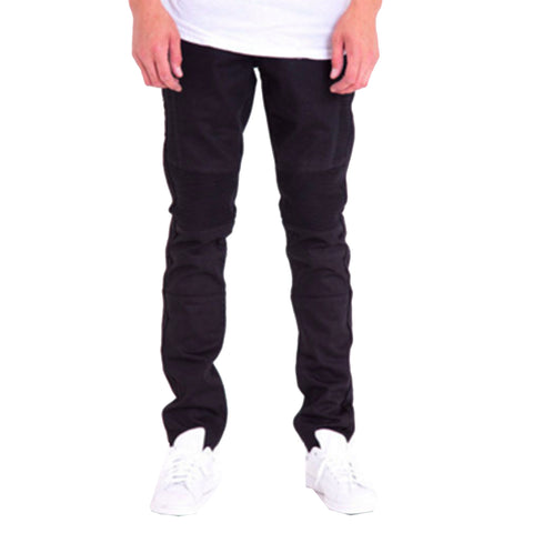 Jordan Biker Denim Jeans In Black