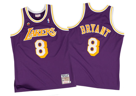 15a8f243a Mitchell   Ness Kobe Bryant 1998-99 Authentic Jersey Los Angeles Lakers In  Purple