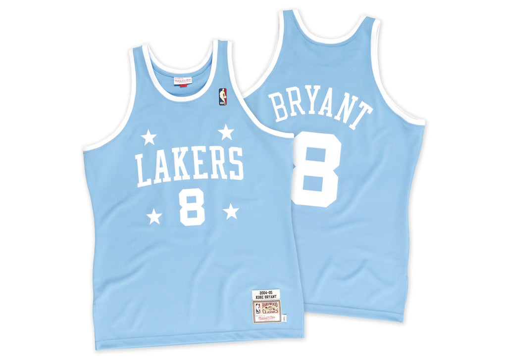 Mitchell & Ness Kobe Bryant 2004-05 Authentic Jersey Los Angeles Lakers In Sky Blue