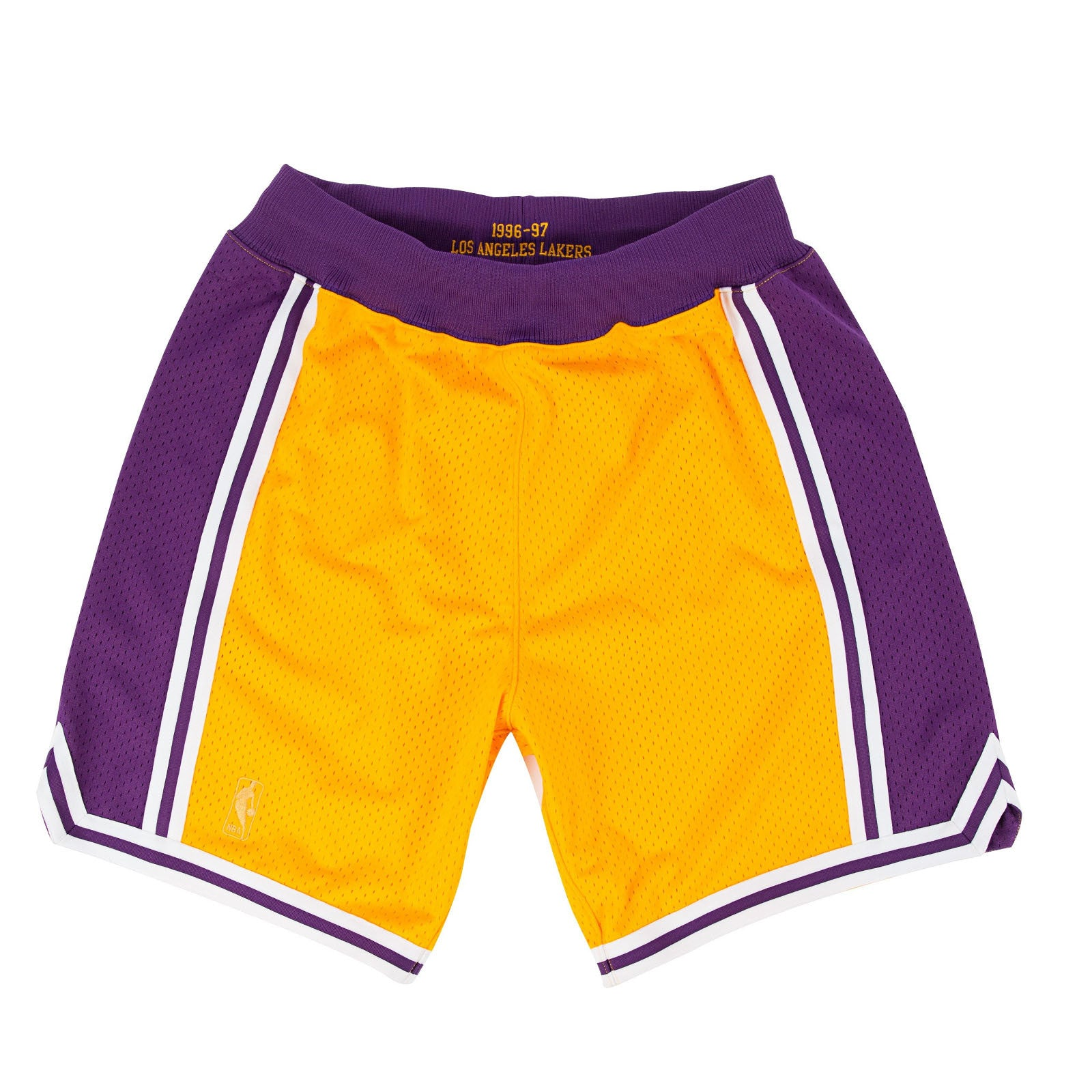 54aca0282061c Mitchell & Ness HWC Los Angeles Lakers NBA Authentic Shorts