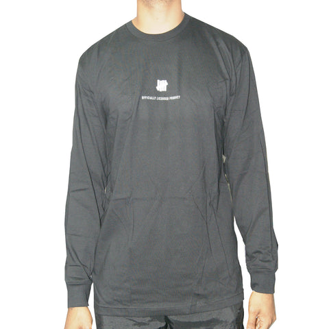 Undefeated Officially Licensed Product Long Sleeve Tee In Black