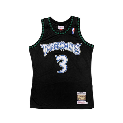 8fe8d2e0f Mitchell   Ness Minnesota Timberwolves Authentic 1997-98 Stephon Marbury  Alternate Jersey