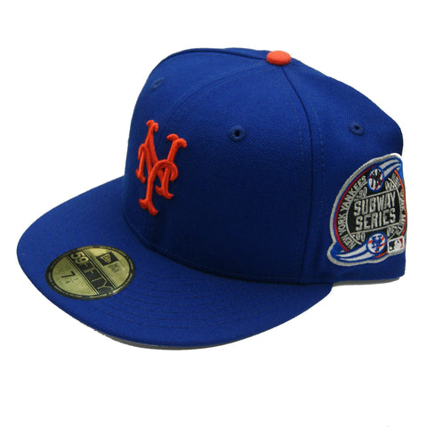 New Era MLB NY Mets Subway Series 2000 World Series Sidepatch Fitted Hat