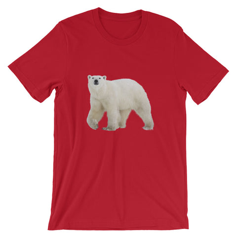 Polar Bear Short-Sleeve T-Shirt (Various Colors)