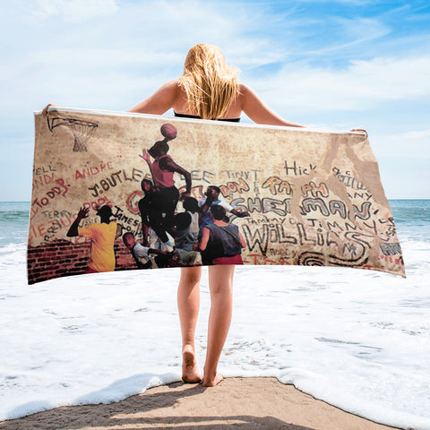 """Playground"" Beach Towels"