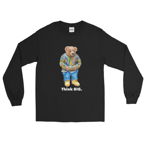 "Vintage Culture NYC ""Think BIG"" Longsleeve T-Shirt (Various Colors)"