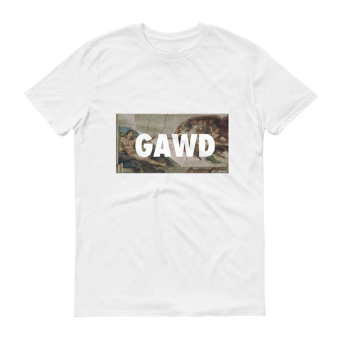 GAWD TEE SHIRT IN WHITE