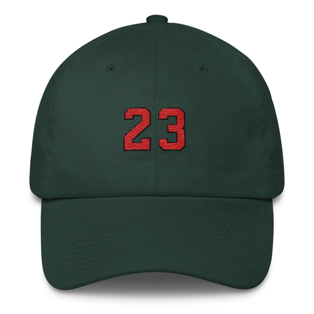 GOAT 6 Panel Dad Cap in Forrest Green