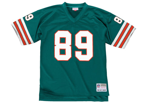 Mitchell & Ness Nat Moore 1984 Replica Jersey Miami Dolphins In Aqua