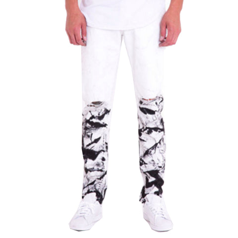 Mugsy Denim Jeans in White