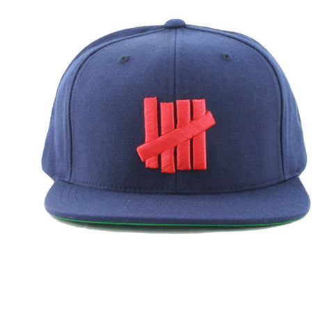 Undefeated 5 Strikes Snapback In Navy