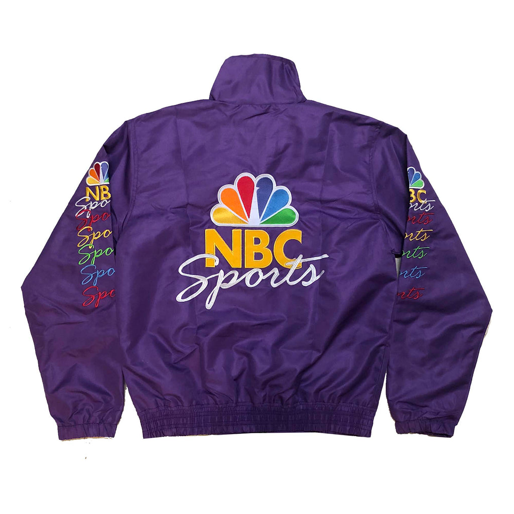 "Vintage Culture ""PRIMETIME"" NBC Sports Jacket in Purple"