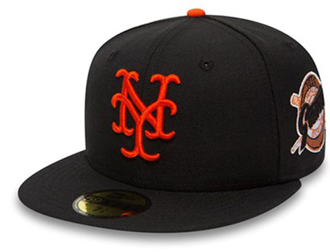 New Era 5950 New York Giants 1954 World Series Patch In Black