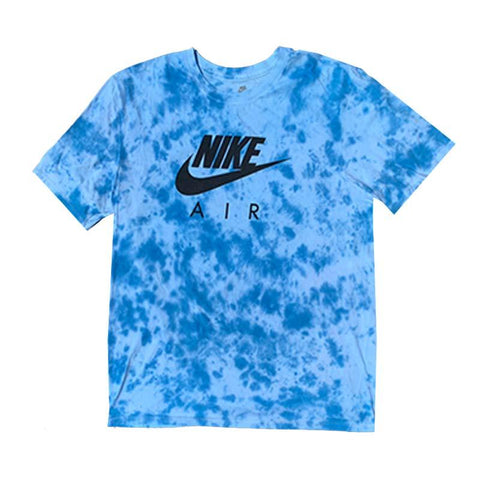 "Nike x Jeffersons Custom Tonal Tie Dyed T-Shirt ""OCEAN BLUE"""
