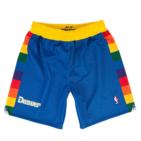 Denver Nuggets Hardwood Classics Throwback NBA Authentic Shorts