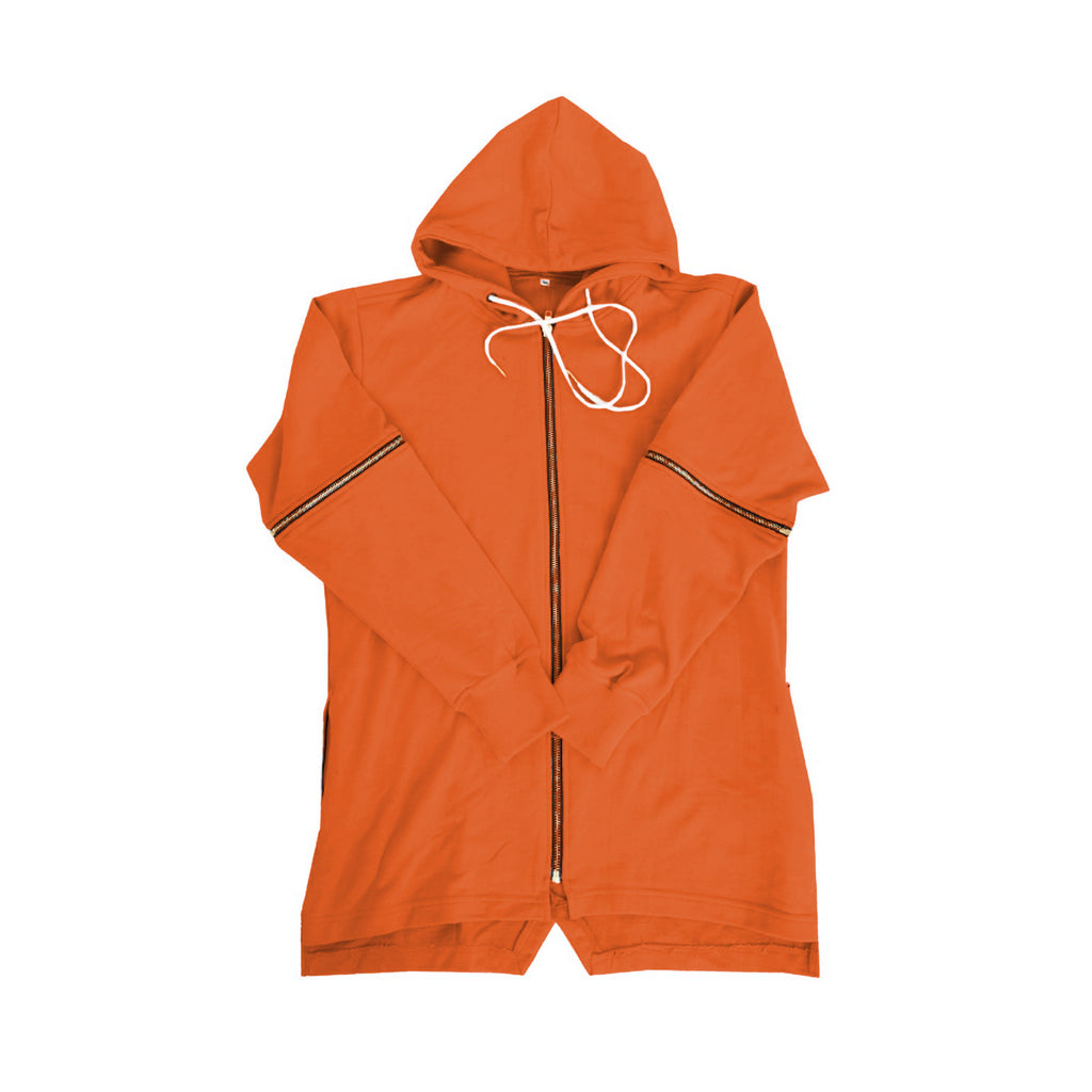 Reves Paris Ohayo Convertible Hoody In Orange