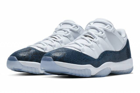 Jordan 11 Retro Low Snake Navy