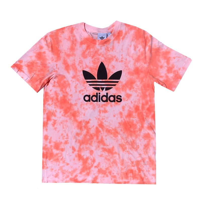 "Adidas x Jeffersons Custom Tonal Tie Dyed T-Shirt ""PEACH"""