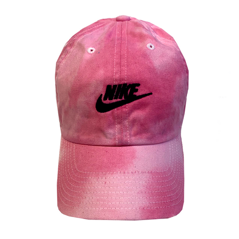 "Nike ""PINK"" Custom Tonal Washed Dad Cap"