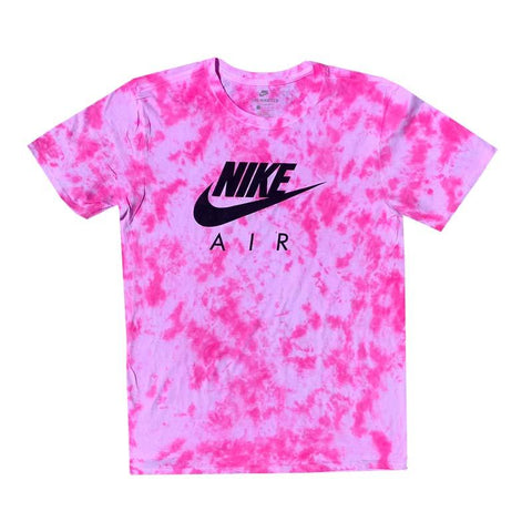 "Nike x Jeffersons Custom Tonal Tie Dyed T-Shirt ""HOT PINK"""