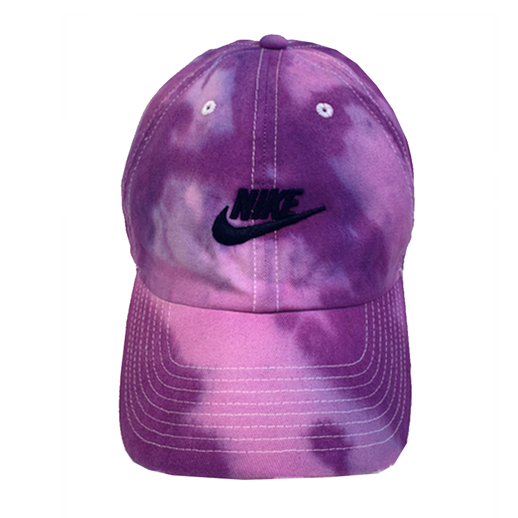 "Nike ""PURPLE HAZE"" Custom Tonal Washed Dad Cap"