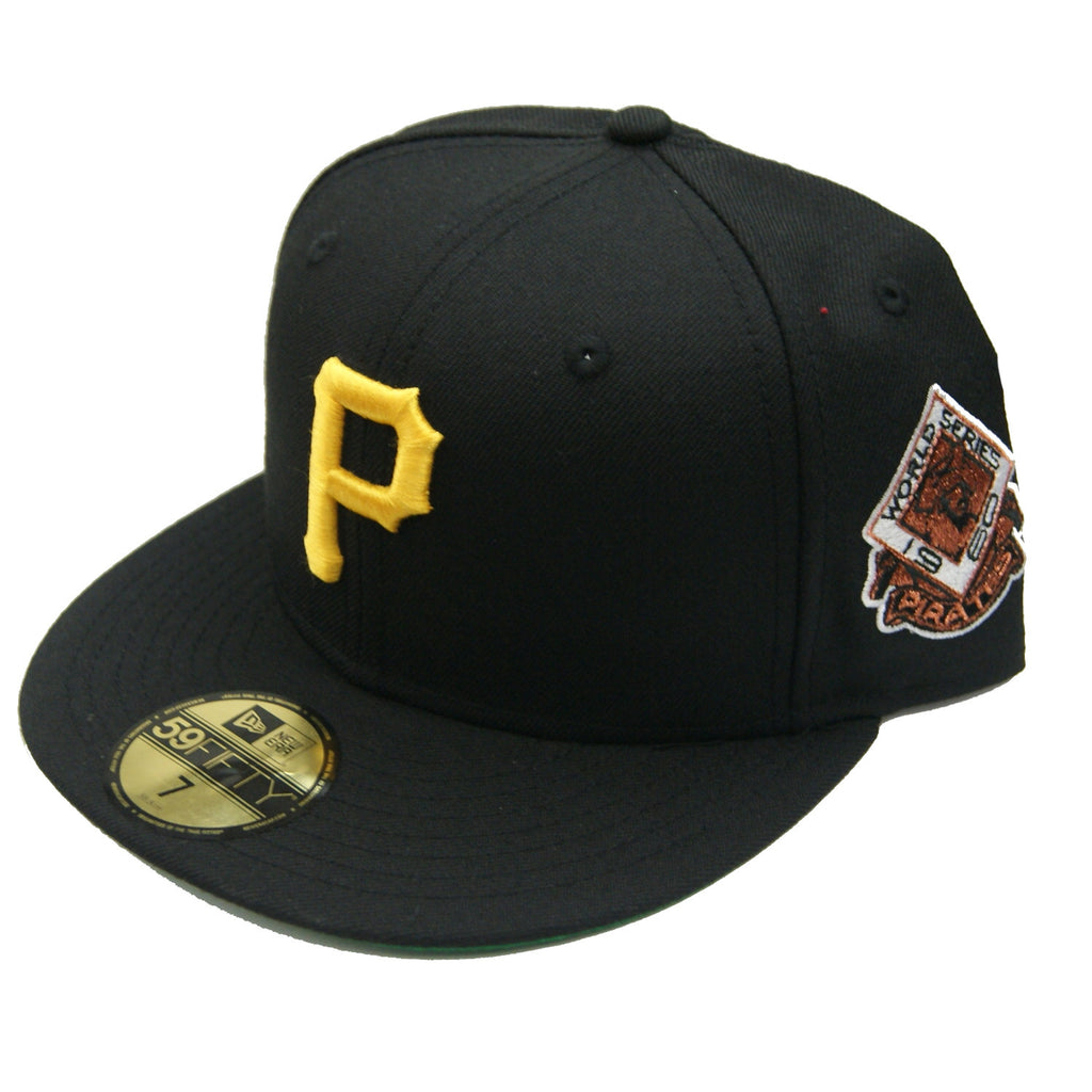 MLB Pittsburgh Pirates 1960 World Series Sidepatch Fitted Hat