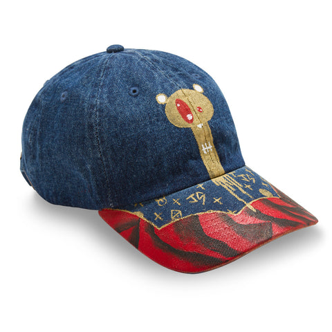 Posh Custom Denim Dad Hat by Drippy