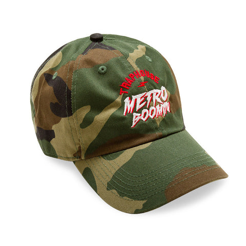 "Posh Dad Hat ""Trap House Metro Boomin"" Camo"