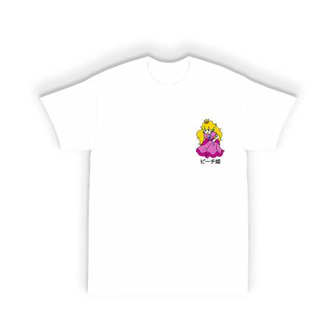 Princess Tee Shirt in White