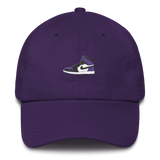 """Purple Court"" Strapback Dad Hat (Various Colors)"