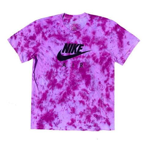 "Nike x Jeffersons Custom Tonal Tie Dyed T-Shirt ""PURPLE HAZE"""